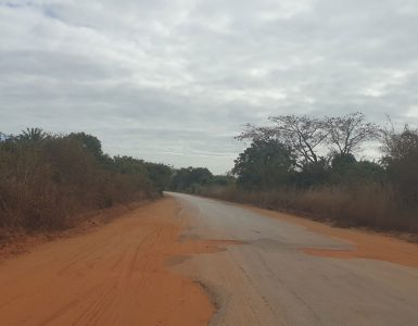 Mozambique EN1 Road