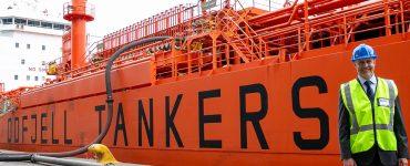 Nduna Maritme tanker Bow Cecil