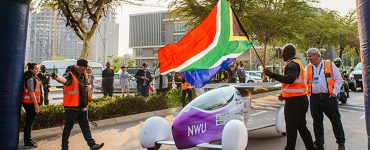Sasol Solar Challenge start in Knysna
