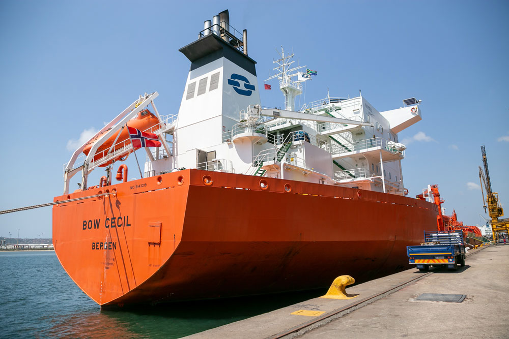 Chemical Tanker Bow Cecil