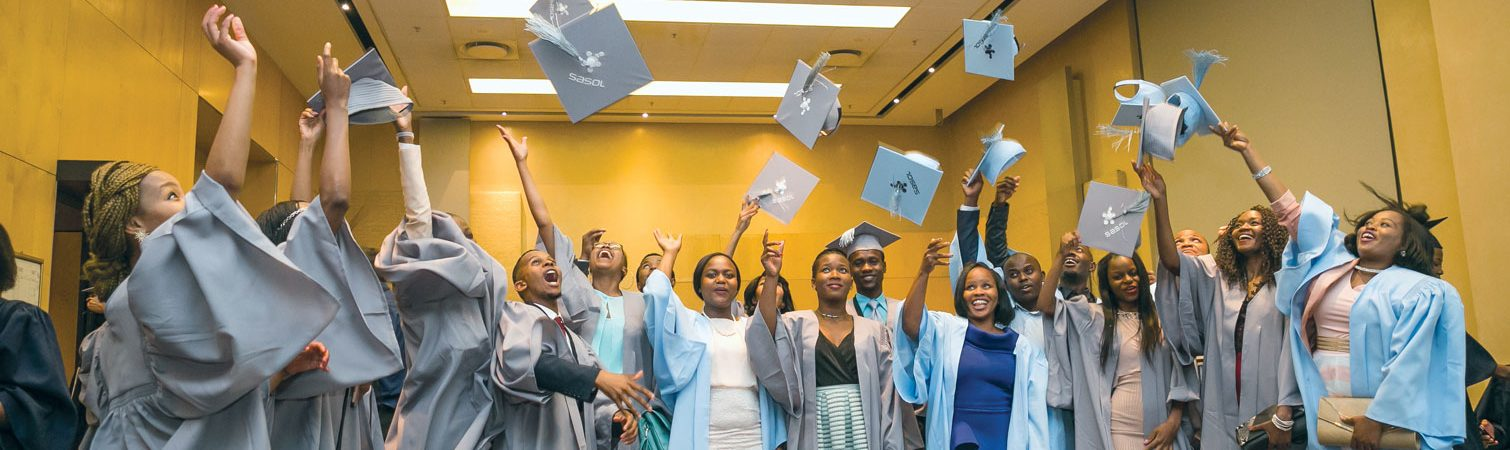 Sasol Foundation graduates celebrate