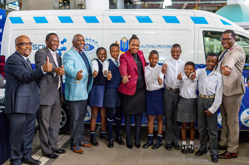 Sasol Foundation Mobile Science lab, access to STEM education
