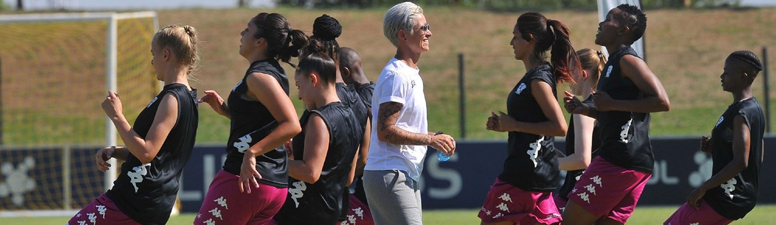 Banyana Banyana captian Janine van Wky during a JWV training session