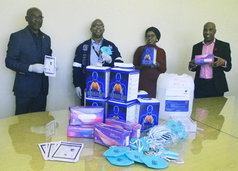 Sasol in Sasolburg donates PPE to Fezile Dabi Municipality