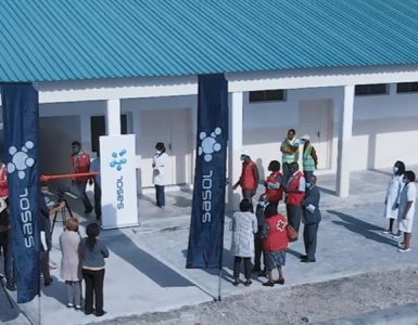 Sasol and partners delivered three rehabilitated health centers in Sofala