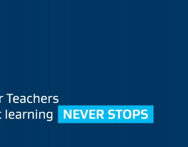 World Teacher Day banner